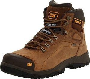 Caterpillar Men's Diagnostic Waterproof Steel-Toe Work Boot